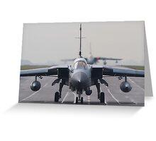 RAF Tornado GR-4 head-on Greeting Card