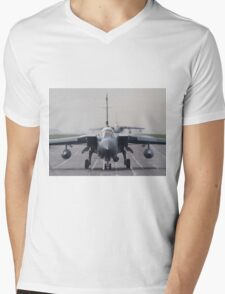 RAF Tornado GR-4 head-on Mens V-Neck T-Shirt
