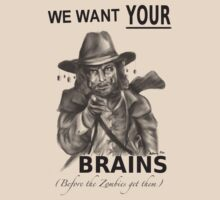 We Want Your Brains by Anthony Pike