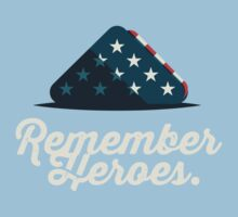 Remember Heroes Kids Clothes