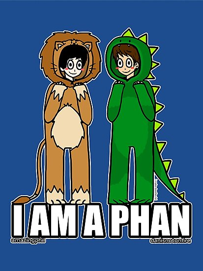 I AM A PHAN by Adzie Doodles
