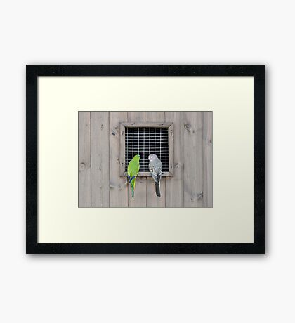 Are You Sure We Were Invited? Framed Print