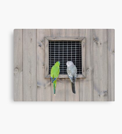 Are You Sure We Were Invited? Canvas Print