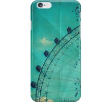 Vintage London Eye iPhone Case/Skin