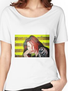 """""""Charlie Drown""""  Women's Relaxed Fit T-Shirt"""