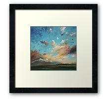 Highland Peaks Framed Print