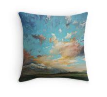 Highland Peaks Throw Pillow