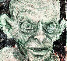 Gollum by Lincke