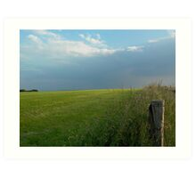 The open countryside Art Print