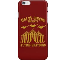 The Flying Graysons iPhone Case/Skin