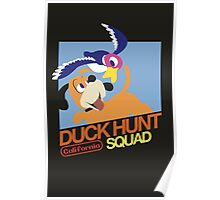 Super Smash Bros Duck Hunt Poster