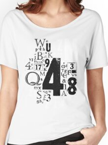 Type T Women's Relaxed Fit T-Shirt