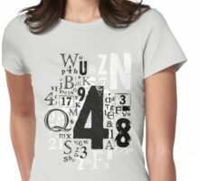 Type T Womens Fitted T-Shirt