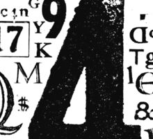 Type T Sticker