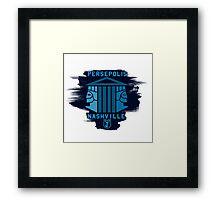 Persepolis Nashville - RES Version Framed Print