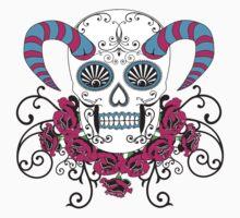 magestic skull by panda22