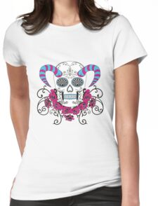 magestic skull Womens Fitted T-Shirt