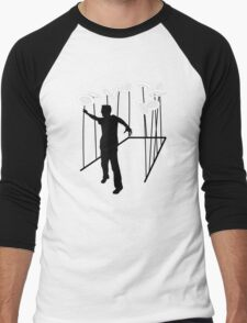 Plate Spinning Men's Baseball ¾ T-Shirt