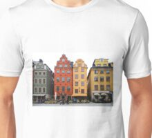 Stockholm. Old Houses in Gamla Stan Unisex T-Shirt