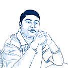 Self Portrait :: Photoshop and Digitizer by Tridib Ghosh