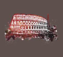 Rome, Colosseum skyline Baby Tee