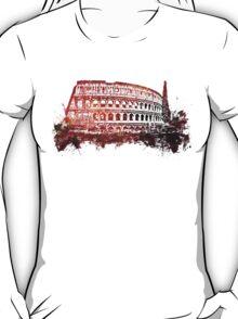 Rome, Colosseum skyline T-Shirt