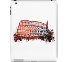 Rome, Colosseum skyline iPad Case/Skin