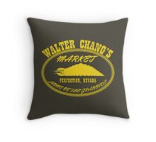 Chang's Market - Perfection, Nevada Throw Pillow