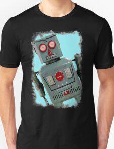 Wide Eyed Robot Unisex T-Shirt