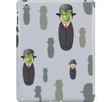 Magritte pattern iPad Case/Skin