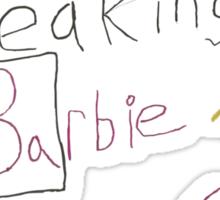 David Marder - Breaking Barbie Sticker