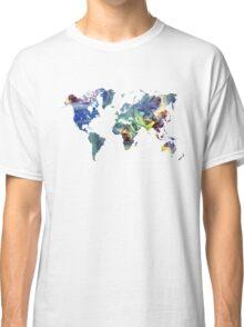 World map cosmos Classic T-Shirt