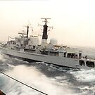HMS EDINBURGH by mtraufler