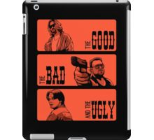 The Dude, The Bad And The Ugly iPad Case/Skin