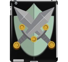 Shield and Swords (green) iPad Case/Skin