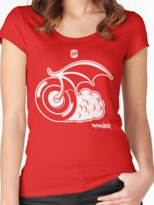 Blood Red Wings Hockey Women's Fitted Scoop T-Shirt