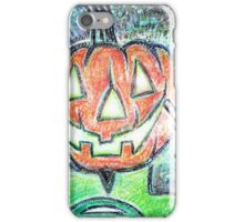 Green Jack O' Lantern iPhone Case/Skin