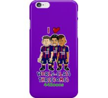 Bancelona - World Class Threesome iPhone Case/Skin