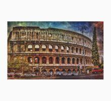 Colosseum Rome Baby Tee