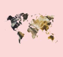 World Map Sandy world Kids Clothes