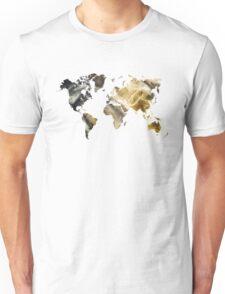 World Map Sandy world Unisex T-Shirt