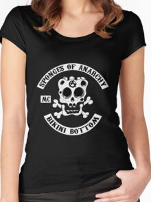 Sponges Of Anarchy Women's Fitted Scoop T-Shirt