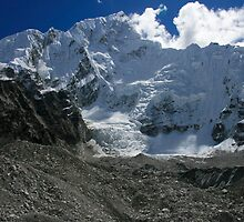 Nuptse Ice Fall by Richard Heath