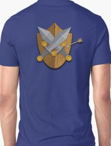 Shield and Swords (Wood) Unisex T-Shirt