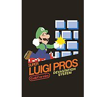 Super Smash Bros Super Luigi Bros Photographic Print