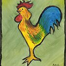 Rooster Doo-Dad by Amy-Elyse Neer