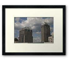 A View From The 20th Framed Print