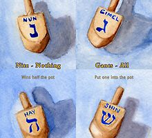 How to Play Dreidel by Amy-Elyse Neer