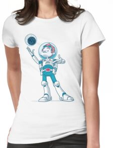 Space Cadet Womens Fitted T-Shirt