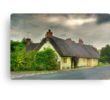 Thatched Country Cottage - Harome Metal Print